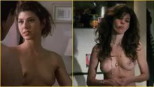 Marisa Tomei's breasts almost 20 years apart