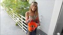 Adriana Chechik - Super Hero Goes Trick Or Treating