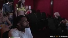 Cherie Deville and Molly Jane - A Movie Date Dicking