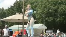 Indiana Stripper dancing on the pole