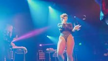 Niykee Heaton wearing a hot outfit onstage