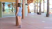 AmberHahn Flashing Her Butt