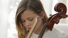 Keisha Grey and her music teacher