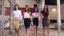 The Dream Team - Riley Reid, Lana Rhoades, Janice Griffith, Aidra Fox