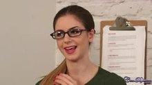 Stella Cox in the office
