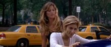 Gisele Bundchen & Jennifer Esposito with some hands on plot in Taxi (2004)