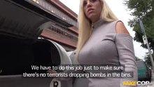 Policeman fucks big booty latina