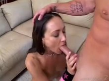 Michelle Lay did not expect her throat to be loaded with cum