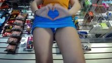 flashing at work just for you