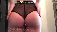Rahyndee James' Insane Butt