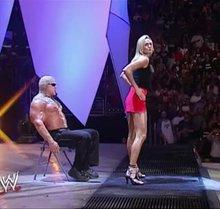 Stacy Keibler - Lap dance on WWE Raw