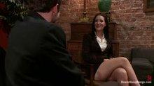 Kimberly Kane passes the interview