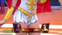 Carol Narizinho painted as She-Ra