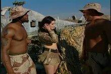 Kristina does the whole platoon