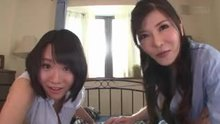 Anri Okita and Kaho Shibuya | Creampie Life With 2 Wives With Big Boobs
