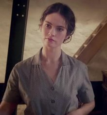 Lily James in the romantic war drama film