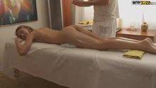 Massaging Her Lovely Butt and Legs
