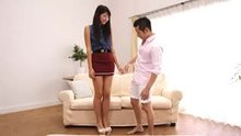 Nanae Matsumoto - A Tall Woman's Porn Debut With A Short Guy