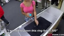 Pawn shop is a dirty place for an innocent woman