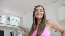 Allie Haze - orgasmicly happy to be covered in jizz