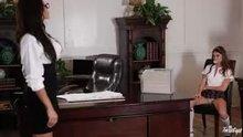 (Twistys) Ariella Ferrera & Riley Reid - Head Mistress