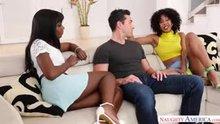 Ana Foxxx & Misty Stone - 2 chicks same time