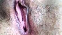 Close up squirting.