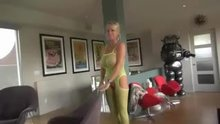 Wifey in lime green