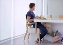 Two People Having Breakfast