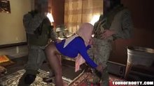 Fucked by two soldiers