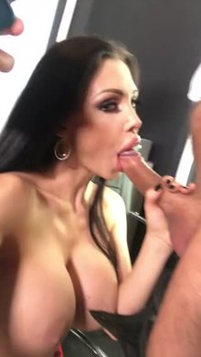 Aletta Ocean putting those cock cushions to good use