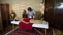 """Nina Elle is SHOCKED to discover a camera at a place called """"Tricky Spa"""""""