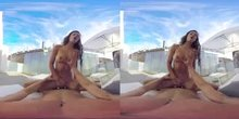 Patio Pussy Pounding(3D, 180°)
