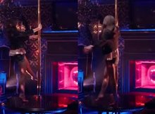 Emma Watson working the pole like a pro in The Bling Ring