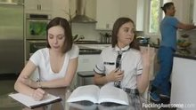 Riley Reid gets caught Masturbating