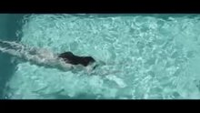 Linda Sweet - Diving Naked Into a Swimming Pool