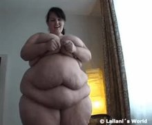 She weighs 300 kg now