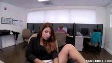 Isabella Taylor (aka Isabella de Santos) - Fucked hard in the office [Bangbros]
