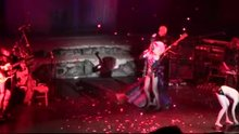 Lena Hall topless in the national tour of Hedwig and the Angry Inch