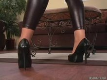 Jessica Lynn - Leggings & Pantyhose Tease