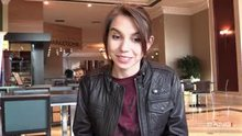 Cece Capella - For a brief moment on the escalator when she flashes her snatch...