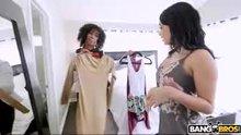 Brown Bunnies - Misty Stone & Aaliyah Hadid