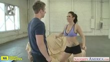 Jayden James workout