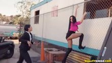 Gina Valentina, Victoria June - Hooker On The Run
