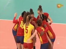 Spanish Volleyball Womans