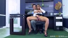 Layla London - Big Breasts at Work - The Inside Her