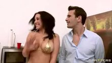 Jyden Jaymes breasts out