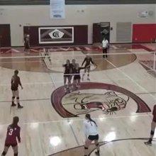 Premature Volleyball Celebration