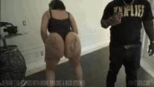 Nona Malone fake booty pornstar