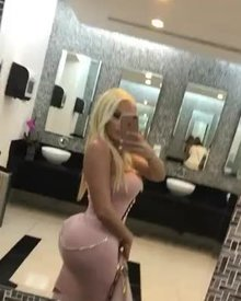 Plastic whooty doll